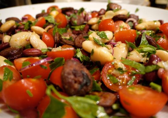 Moro bean and chorizo