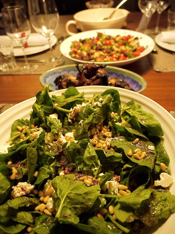 Moro feta salad