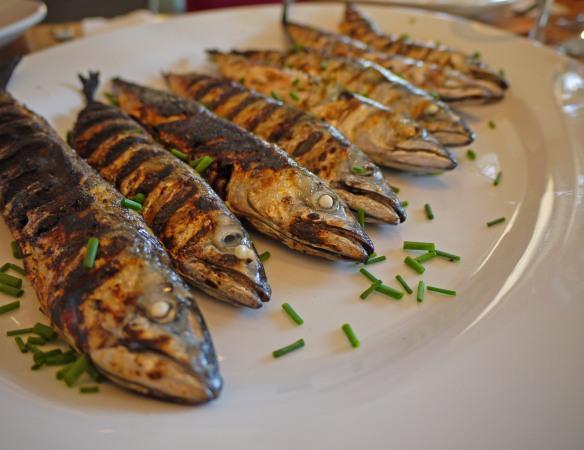 bbq mackerel