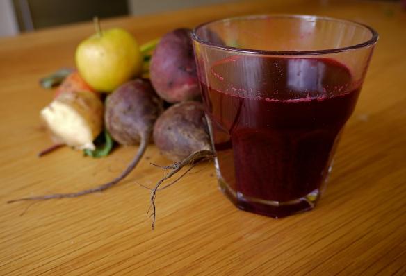 beetroot apple ginger juice