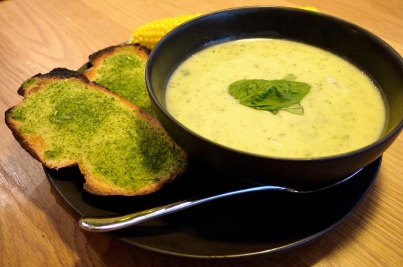 courgette soup