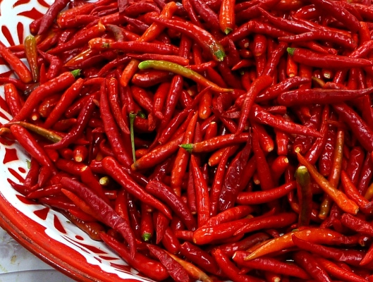 thai market chilli