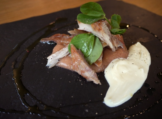 rhubarb mackerel puree