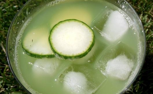 cucumber mocktail