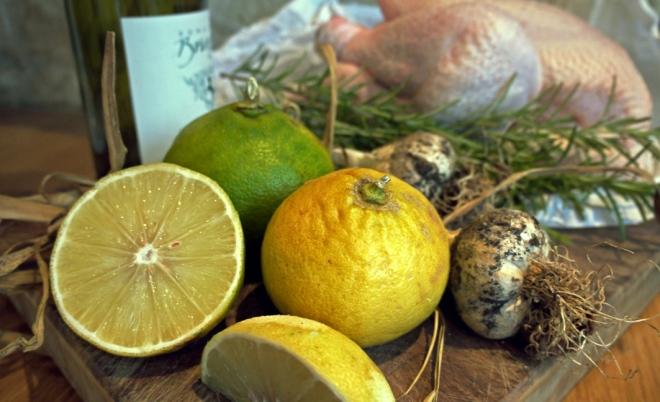 chicken and bergamot
